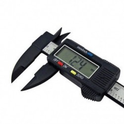150 mm-es 6 hüvelykes LCD digitális elektronikai szénszálas mikrométer