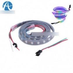 WS2812B 5050 RGB LED csík 1M 60 LED 60LED egyedi címezhető 5V fekete PCB