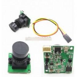 FPV CCD kamera Mini kamera 700TVL 2,8 mm RC Quadcopter repülőgépekhez