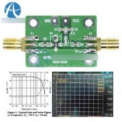 0.1-2000MH RF szélessávú erősítő alacsony zajszintű LNA szélessávú modul vevő 30dB
