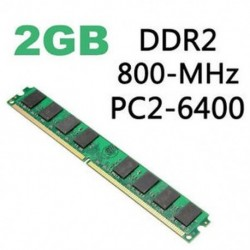 800MHz 240Pin - 2 GB / 4 GB memória RAM DDR2 PC2-5300 / U 667/800 / 1600MHZ 200 / 240Pin PC asztali memória