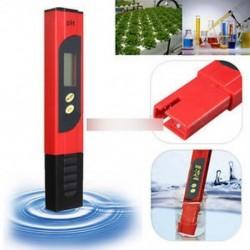 Piros zseb LCD PH mérő tesztelő toll hidroponika akvárium medence víz mérése