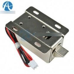 DC12V 0.6A Elektromos mágnesszelep zárónyílás felfelé szerelhető ajtószekrény fiókhoz