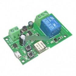 Sonoff WiFi vezeték nélküli intelligens kapcsoló otthoni relé modul 5V-12V Önzáró