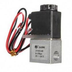 """DC 12V 1/8 """"elektromos mágnesszelep levegőgázvízhez általában zárt N / C"""