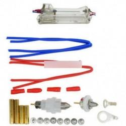 5A 4-vezetékes tesztállvány Akkumulátor tartó csipesz 26650/18650 AA / AAA / gombelemhez