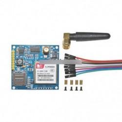 SIM900A 1800/1900 MHz vezeték nélküli bővítőmodul GSM GPRS kártya   antenna