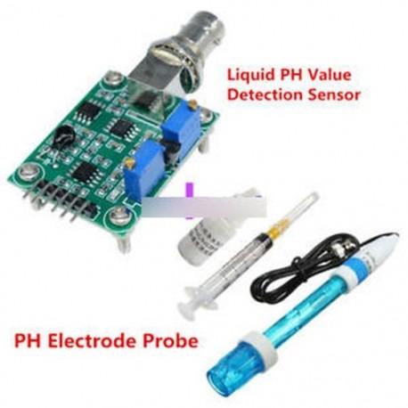 Aquarium Hydroponic PH elektróda szonda   folyadék PH értékérzékelő érzékelő