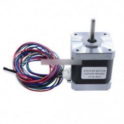 1,8 fok 42mm 2A 12V NEMA17 2 fázisú hybird léptetőmotor JK42HS48-1684 4 vezetékes