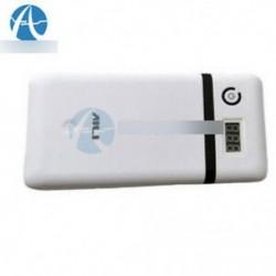 3.3A 5V 12V 21V mobil tápfeszültség bank 18650 akkumulátor töltő Laptop Iphone fehér