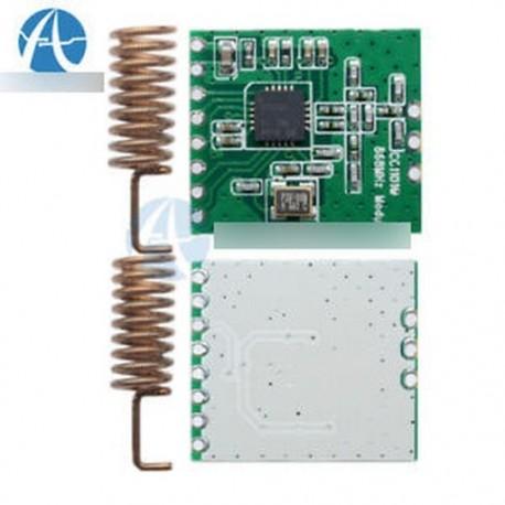 5PCS CC1101 vezeték nélküli modul hosszú távú átvitel Antenna 868MHZ M115
