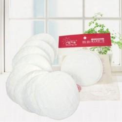 3 rétegű pamut újrafelhasználható melltartók, ápoló, vízálló, szerves, egyszerűen mosható pad szoptatás