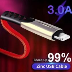 3A gyors töltésű USBkábel szinkronizáló adat mobiltelefonadapter töltő kábel iPhone 11 8 7 6 6s Plus X XS MAX