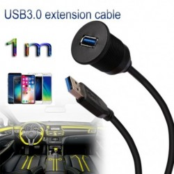 1 mes USB3.0os hosszabbító kábel USBcsatlakozó aljzat / A / Fadatkiterjesztő kábel