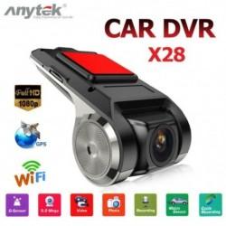 HD 1080P 150 ° os autós DVR Starlight Night Vision kamera ADAS Gszenzor Wifi mobiltelefon összekapcsolt