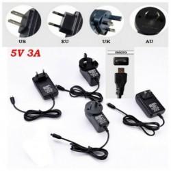 3A 5 Vos mikroUSB hálózati adapter DC fali hálózati töltő málna Pi / kapcsolóhoz