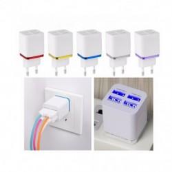 5.1A USB hálózati adapter fali töltő 4 portos utazási töltő kockablokk