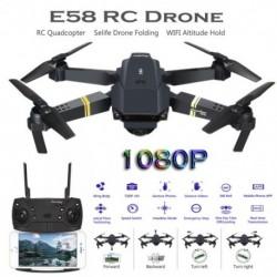 E58 RC Drone 1080P HD kamera WIFI tartó Selife Drone Összecsukható RC Quadcopter E58 Drone