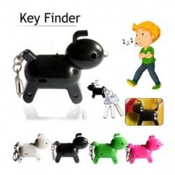 Kulcsos gyűrűk Mini kutya elveszett síp kulcstartó, villogó csipogó távirányító gyerekek kulcstartó