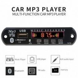 MP3 lejátszó dekóder fórum FM rádió TF USB 3,5 mm AUX modul Bluetooth vevő Autóskészlet Audio IPhone 8 XS Xiaomi MI