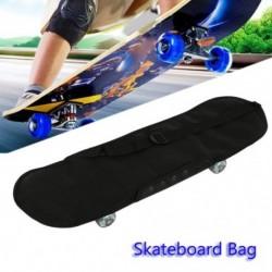 Egy vállú gördeszka hátizsák huzat Hordozható Longboard hordtáska Sport utazási hordtáska kiegészítők