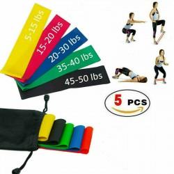 Calitek 5 ellenállás elasztikus gumiszalag gumipánt szalag edzéshez Fitness otthoni edzés jóga
