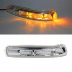 1 db autó visszapillantó tükör irányjelző fényszóró oldalsó tükör LED lámpa  Chevrolet Captiva 2007 -2016-hoz