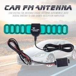 Autó digitális FM rádió antenna Autó TV autós jel vétel erősítő