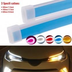 30 cm-es autó nappali fényáramú LED-ek DRL szalagfényszóró automatikus nappali menetjelző lámpa fék irányjelző