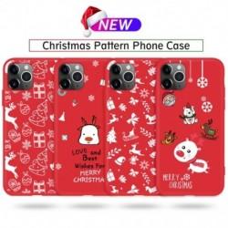Karácsonyi telefontok ihpone 11 ütésálló tok, TPU szilikon tok