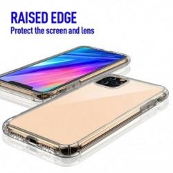 Ütésálló szilikon telefon tok iPhone 11/11 Pro Max tok, átlátszó védelem, hátsó öböl
