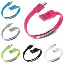 Karkötő csuklópántos mikro USB adatszinkronizáló töltőkábel a mobiltelefonhoz HOOT