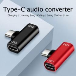 TypeC USB-C fülhallgató fejhallgató audio töltő töltő adapter adapter megosztó konverter
