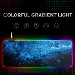 RGB Gamer számítógép RGB háttérvilágítású asztali billentyűzettel rendelkező LED egérpad