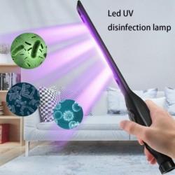 Hordozható újratölthető 21 LED-es UV-sterilizáló lámpa Otthoni ultraibolya fertőtlenítés Baktericid lámpa UVC