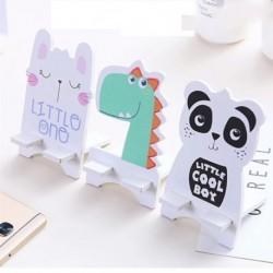 Univerzális mobiltelefon-tartó asztali állvány tablet fa rajzfilm Mobiltelefon-tartó állvány iPhone Huawei Xiaomi