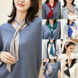 Divat Női őszi és téli vékony selyem sál Lady hosszú, multifunkcionális, sokoldalú dekorációs sál