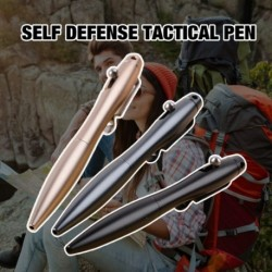 Önvédelmi toll Tungsten acél üveg megszakító Személyes írás toll szabadtéri sport túrázás taktikai toll