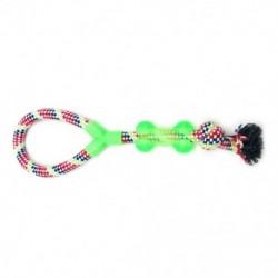 12 darabos kutyakötéljátékok, kiskutya-chew játékok kutyajátékok közepes, nagy és XL kutyákhoz