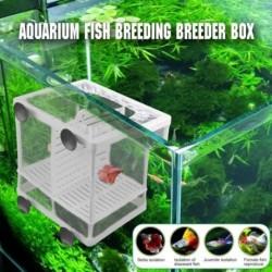 Akvárium halak tenyésztő doboz baba halak keltetése elkülönítése Nettó tartály inkubátor doboz függő akvárium