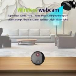 HDQ15 1080P HD WIFI kamera vezeték nélküli rejtett otthoni biztonsági IP kamera Éjjellátó távvezérlő Mini videokamera
