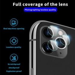 iPhone 11 Pro / 11 Pro Max fényképezőgép objektív edzett üvegvédő fólia
