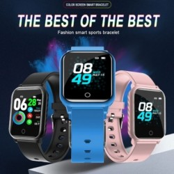 A9 színes képernyő intelligens óra, egész napos HR vérnyomásmérő, zenevezérlő, sportemlékeztető fitnesz zene