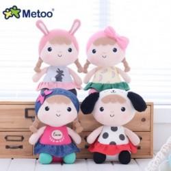 Metoo Newes kislány baba édes töltött gyerekjátékok lányoknak gyermekek fiúk Kawaii baba plüss játékok