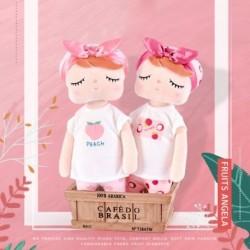 Metoo Newes Doll Édes Nyúl Töltött Gyerekjátékok Lányoknak Gyermekek Fiúk Kawaii Baba Plüss Játékok