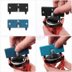 Állítható karóra-nyitó hátsó szerszám Préselés Zár-meghúzó-csavarkulcs Karóra-akkumulátor-eltávolító