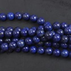 Lapis Lazuli - Természetes drágakő kerek kő laza gyöngyök tétel 4mm 6mm 8mm 10mm barkács ékszerek készítése