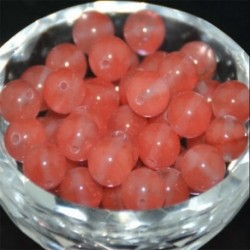 Watermelon Red - Természetes drágakő kerek kő laza gyöngyök tétel 4mm 6mm 8mm 10mm barkács ékszerek készítése