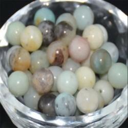 Multi-Colored Amazonite - Természetes drágakő kerek kő laza gyöngyök tétel 4mm 6mm 8mm 10mm barkács ékszerek
