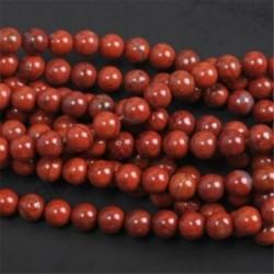 Red Japser - Természetes drágakő kerek kő laza gyöngyök tétel 4mm 6mm 8mm 10mm barkács ékszerek készítése